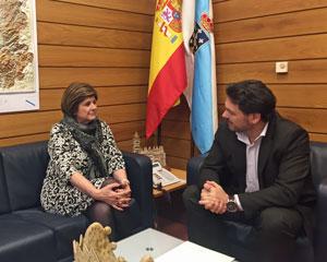 Daría González y Antonio Rodríguez Miranda.