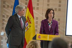 En el acto también intervino la directora general de Españoles en el Exterior y de Asuntos Consulares y Migratorios, Mª Victoria González-Bueno.