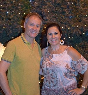 Carlos Hauer y Blanca Hernando Barco.