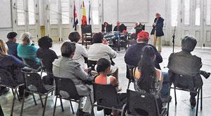 El consejero del CRE, Juan Luis López habló sobre la marcha del proceso de adquisición de la nacionalidad española.