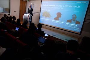 Francisco Conde, conselleiro de Economía, Emprego e Industria, explicó al detalle el Plan.