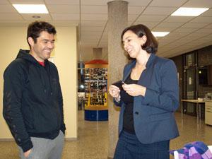 Rayco Rodríguez Plata y Elena García Minguillón.