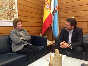Regina Jallas y Antonio Rodríguez Miranda.