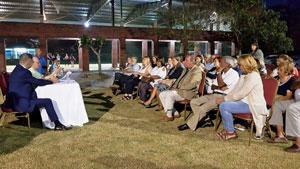 Un momento del acto celebrado en el Centro Gallego.