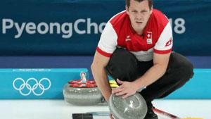 Martín Ríos en los Juegos Olímpicos de invierno que se están celebrando en PyeongChang.