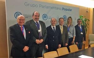 Jaro Paz, José María Benarroch, Ramón Moreno, Eduardo Dizy, Amanda Barrio e Ildefonso de la Campa.