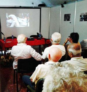 Se proyectaron documentales basados en los conocidos poemas gallegos de Manuel Álvarez.