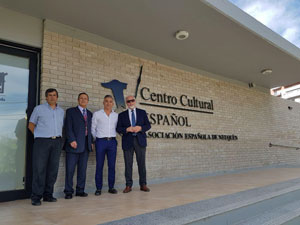 De derecha a izquierda, José Luis Mira Lema, Manuel Cuesta, Juan Carlos Herner y  Roberto Mayorga.