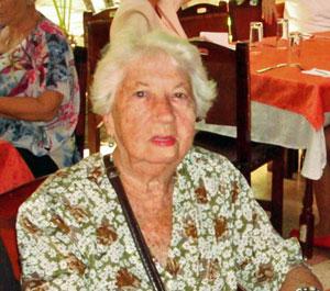 La presidenta de la entidad, Josefina Rodríguez.