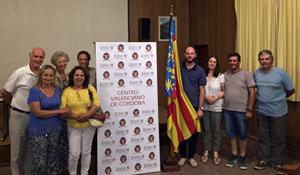 Miembros del Centro Valenciano de Córdoba.