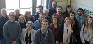 Integrantes de una de las listas que se presentaron a las últimas elecciones del CRE de Buenos Aires.