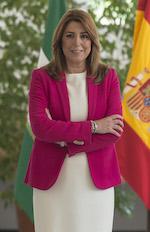 Susana Díaz Pacheco, presidenta de la Junta de Andalucía.