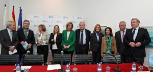 Fernando Ónega, Carlos Alsina, Pilar Cernuda, Ana Pastor, Fátima Báñez, Ymelda Navajo, Margarita Robles, Javier Arenas y José Manuel Barreiro.