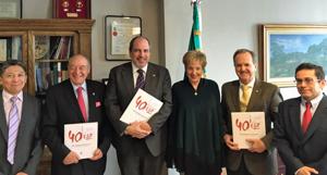 Víctor José Koyoc Cauich, Jaro Paz, José Mª Benarroch, Roberta Lajous, Eduardo Dizy y León Francisco Rodríguez Zahar.