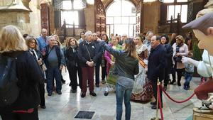 Visita al Palau de la Generalitat.