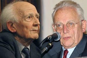 Zygmunt Bauman y Alian Touraine.
