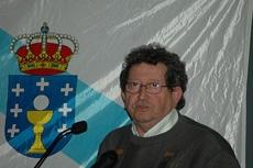 El artista José Díaz Fuentes.