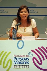 Beatriz Mato presenta el Plan Galego das Persoas Maiores.