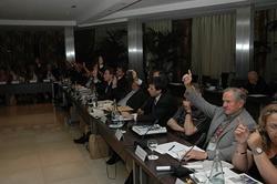 Los consejeros votaron mayoritariamente a favor de la Declaración que solo recibió tres abstenciones.