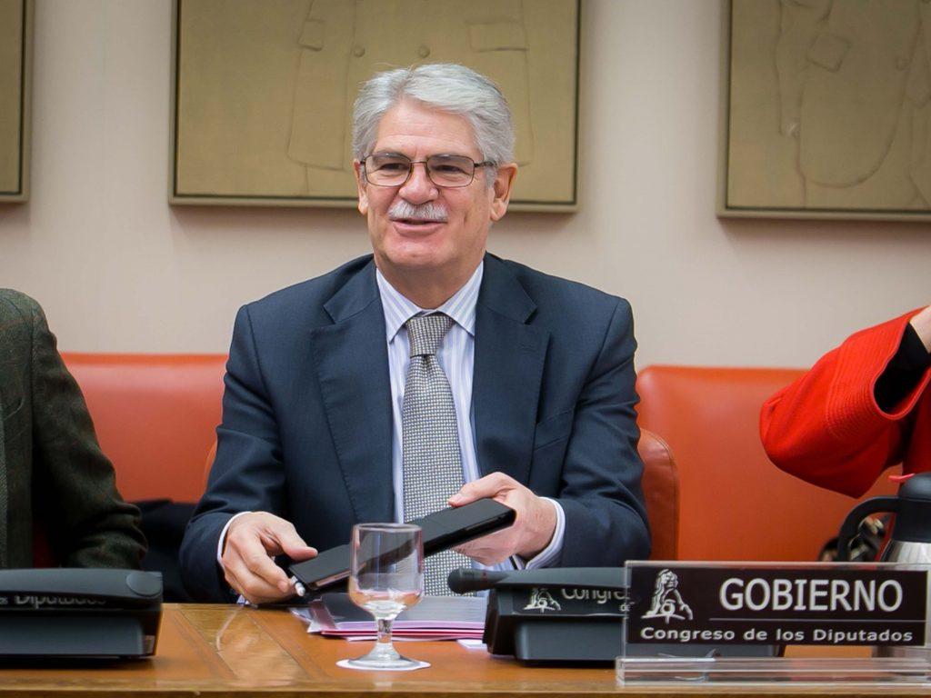Comparecencia del ministro de Asuntos Exteriores y de Cooperación, Alfonso Dastis.