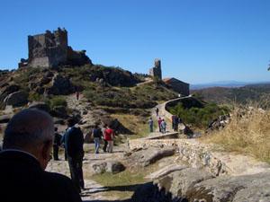 Los excursionistas conocieron mucho de la historia de España.