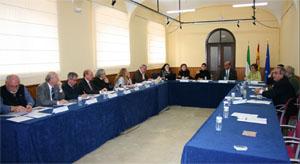 Vista de la reunión del Consejo de Comunidades Extremeñas.