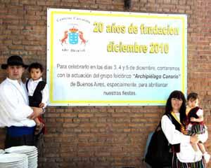 Los centros canarios de Brasil cumplen 20 años.