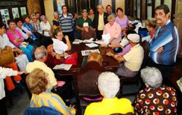 Vista parcial de los participantes en la Junta General de asociados.