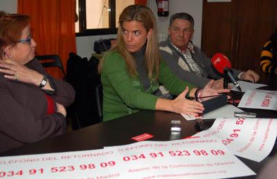 Victoria Cristóbal presentó el nuevo servicio en la sede de APOYAR.