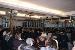 Vista parcial de un momento de la reunión celebrada en Génova.