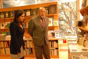 Amanda Vich y Bartomeu Llinàs.