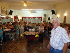 Un momento de la velada de la Unión Regional de Mar del Plata.