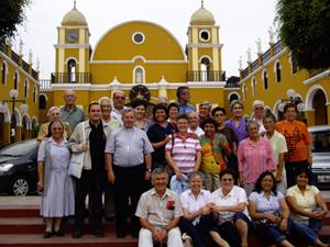 El encuentro en Pachacamac.
