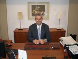 El delegado de la Xunta en Buenos Aires, Alejandro López Dobarro.