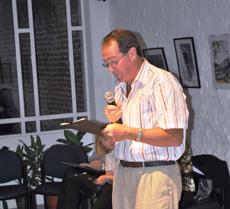 Intervención de Vicente Mosteiro en el acto del Patronato.