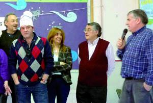 Un momento del acto en Tres Cantos (Madrid).