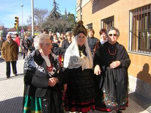 Las Águedas por las calles de Collado Villalba.