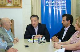 Alfredo Prada ofreció una rueda de prensa en Mar del Plata.