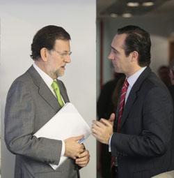 Bauzá y Rajoy en Madrid.
