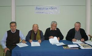 Asamblea de socios de la entidad del 20 de febrero.