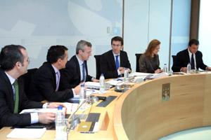 El Consello de la Xunta analizó el Plan de Racionalización y aprobó el Plan Concertado.