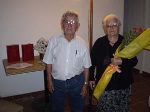 Adelina Mayans y su esposo Antonio Ferrer.