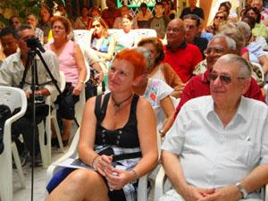 En primer plano Susana Monís y Jorge Oller.