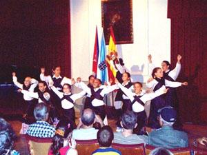 Cuerpo de Baile del Centro Unión Orensana de La Habana.