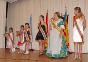 Las jóvenes reinas de la Unión Regional de Mar del Plata.