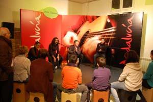Una de las actividades de la semana andaluza en Madrid.