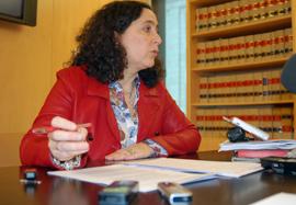La diputada Belén do Campo presentó las iniciativas del PP.