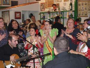 Alegría y cante en San Vicente.