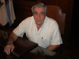 El presidente del Centro Gallego de Buenos Aires, Carlos Vello.