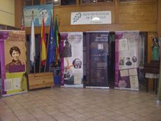 Muestra sobre Rosalía de Castro en el Centro Gallego de Castellón.